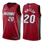 Miami Heat Basket Tröja 2018 Justise Winslow 20# Statement Edition..